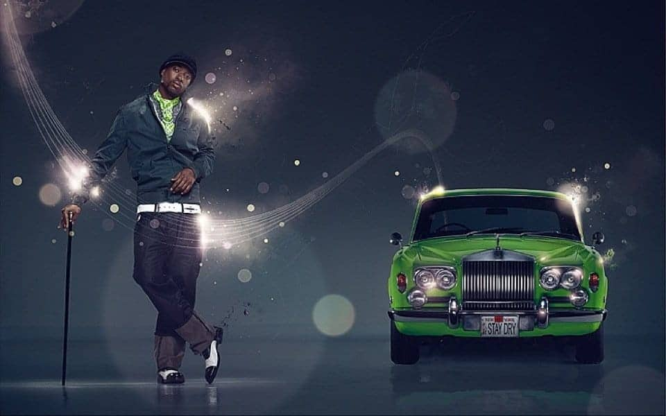 Old Rolls Royce Has Soul